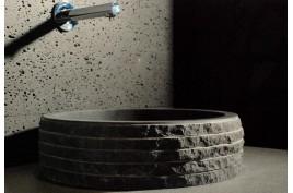 vasques en pierre et lavabos granit - basalte - marbre pour salle ... - Vasque En Pierre Salle De Bain