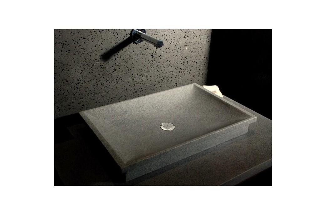 60x40 vasque en pierre granit de salle de bain poser dune. Black Bedroom Furniture Sets. Home Design Ideas