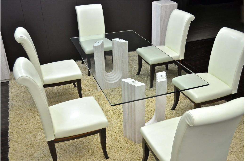 Table de salle a manger en marbre gallery of imagen de for Table de salle a manger haute gamme