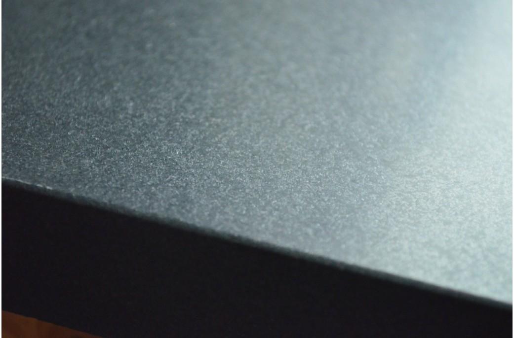 plan de travail granit noir luxe sous vasques pr t l. Black Bedroom Furniture Sets. Home Design Ideas