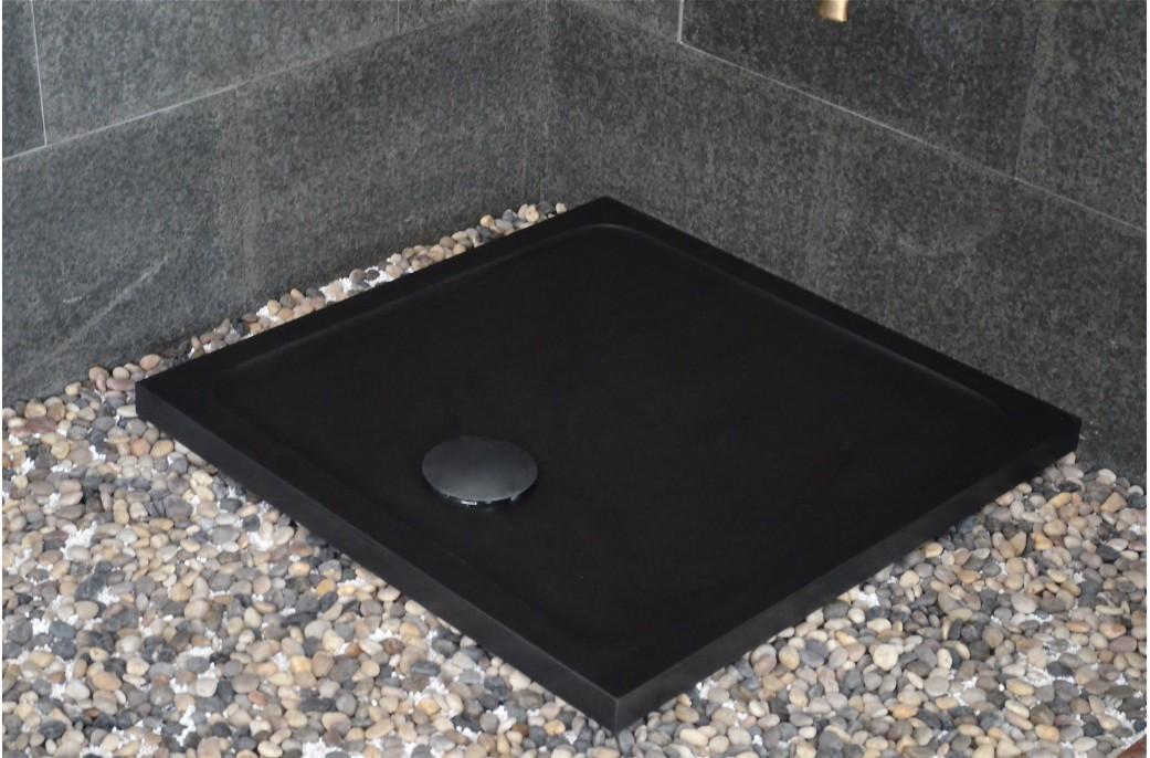 Bac douche pierre cool receveur de douche en pierre bleue - Receveur de douche en pierre naturelle ...