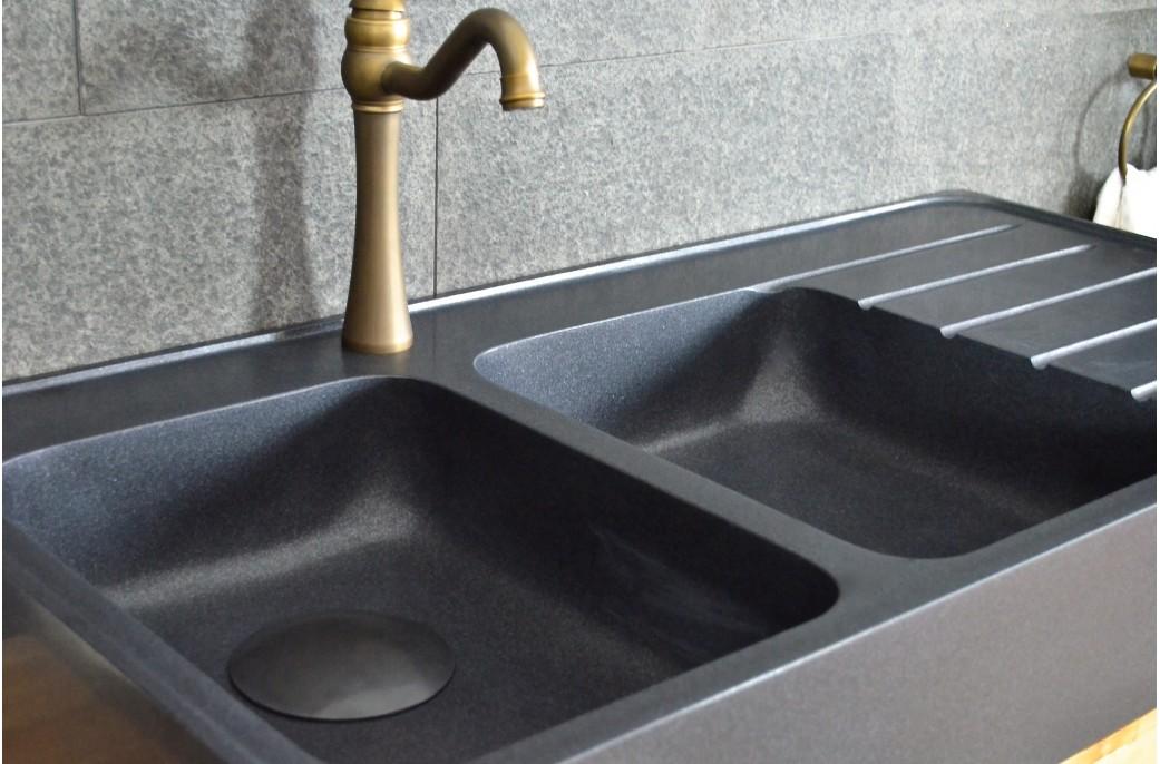 Meuble vasque salle de bain for Meuble evier double bac