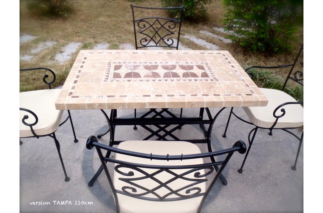 Design table jardin pierre naturelle le mans 16 table de jardin table basse relevable - Table basse jardin metal le mans ...