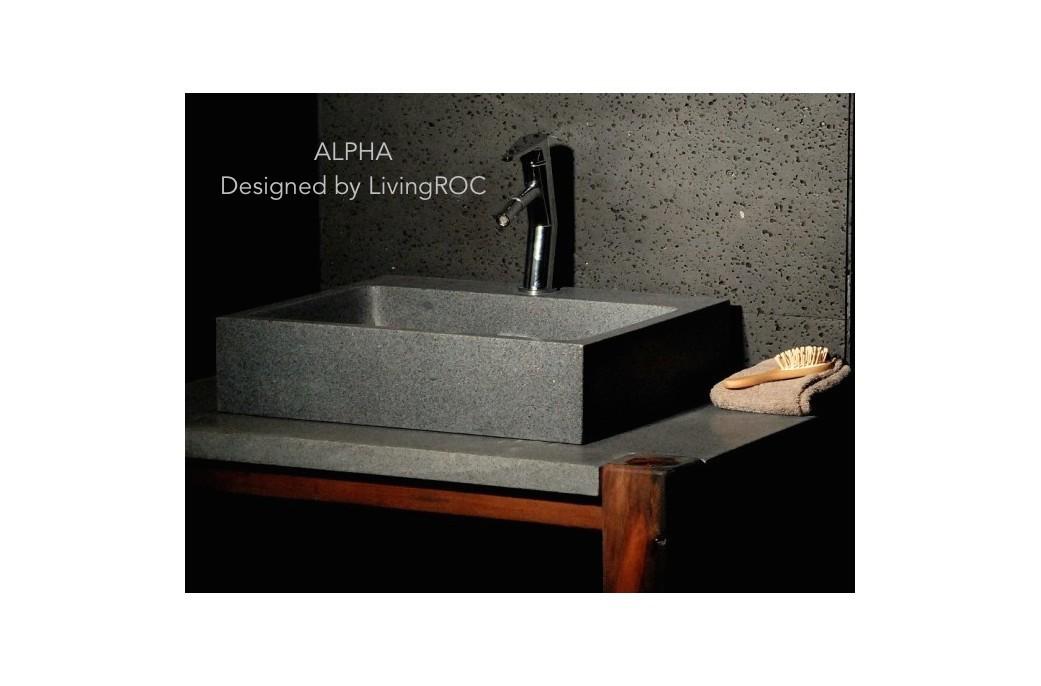 lavabo granit. Black Bedroom Furniture Sets. Home Design Ideas