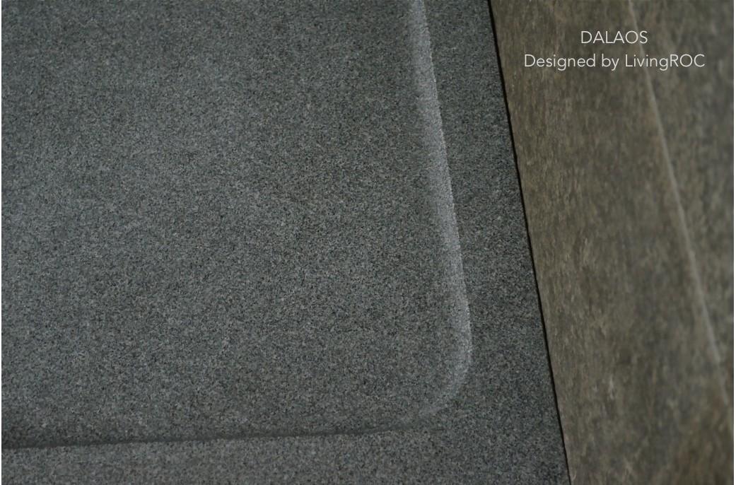 receveur de douche en granit. Black Bedroom Furniture Sets. Home Design Ideas