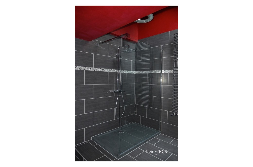 receveur de douche squarium 100x100cm en pierre v ritable extra plat. Black Bedroom Furniture Sets. Home Design Ideas