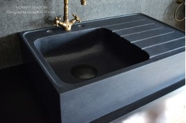 vier de cuisine en granit v ritable aquadeos poser living 39 roc. Black Bedroom Furniture Sets. Home Design Ideas