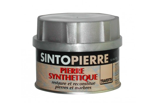 SINTOPIERRE - Mastic de réparation Pierre Naturelle TRAVERTIN 280gr