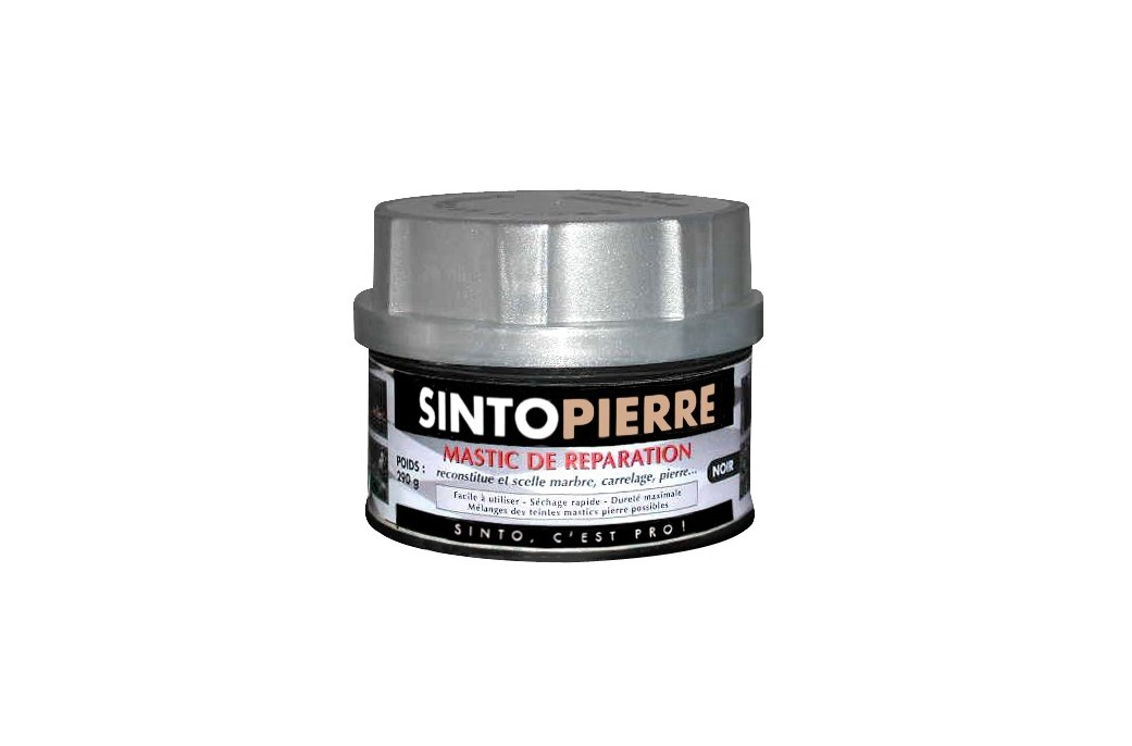 sintopierre mastic de r paration pierre naturelle noir 550ml living 39 roc. Black Bedroom Furniture Sets. Home Design Ideas