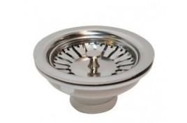 KATE: Bonde évier de cuisine en INOX Diamètre 90 - Spéciale Évier en Pierre