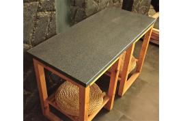 Plan de travail Granit Gris Tendance prêt à l'emploi NAOS