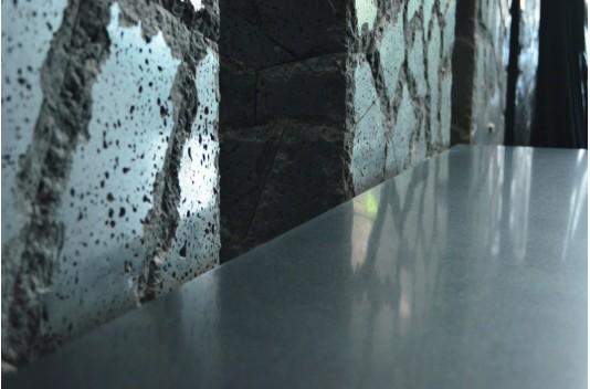 Plan de travail Granit Noir luxe sous vasques prêt à l'emploi - SIRIUS