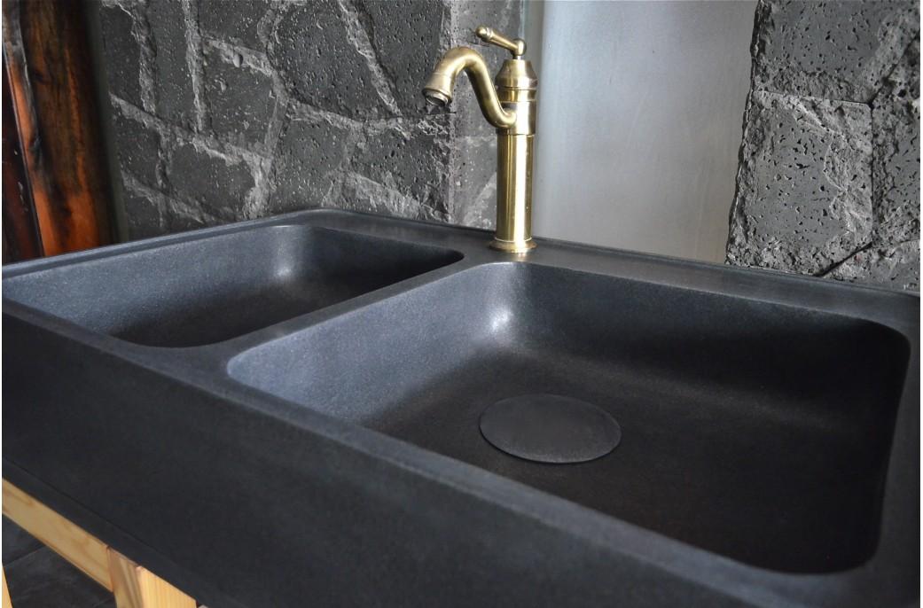 vier en pierre pour cuisine karma shadow 90x60 granit. Black Bedroom Furniture Sets. Home Design Ideas