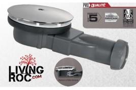 Bonde douche extra plate à membrane 90mm - FLAT STONE