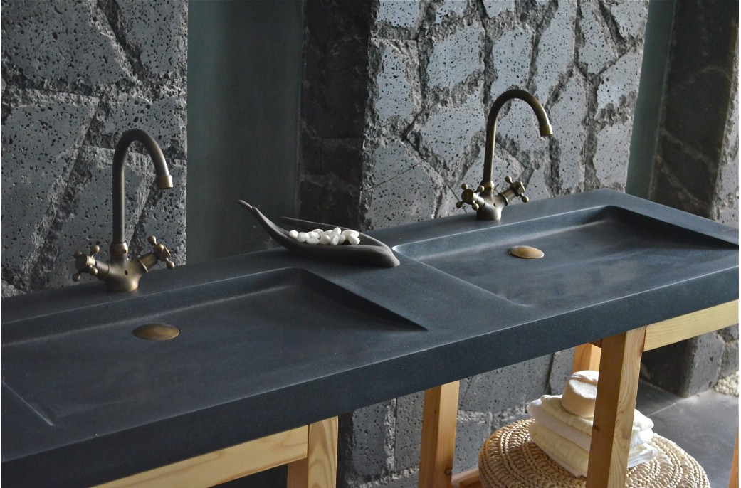 vasque granit noir elegant vasque en granit vasque a poser sdb en pierre granit gris vasque. Black Bedroom Furniture Sets. Home Design Ideas