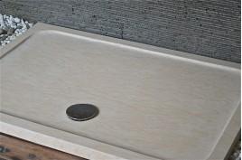 Receveur de douche en marbre d'Égypte 140x90 SPACIUM SUNNY