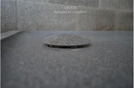 Receveur de douche à l'italienne taillé dans le granit 180x90 DALAOS