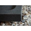 Receveur de douche à l'italienne Granit 140x100 pierre véritable PALM