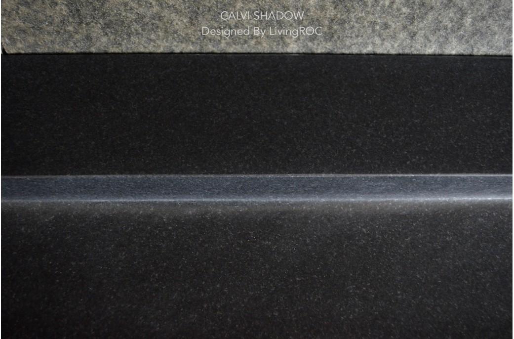 vasque en granit noir 70x50 haut de gamme calvi shadow. Black Bedroom Furniture Sets. Home Design Ideas