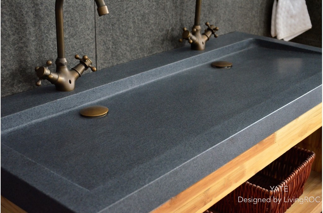 Double Basin Bathroom Sink