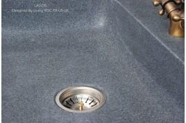 Evier en Pierre Granit véritable spécial cuisine 70x60 LAGOS