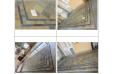Table de jardin mosaïque ardoise décorative 160-200 ERABLE
