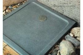 Receveur de douche 70x70 pierre granit véritable PARIS